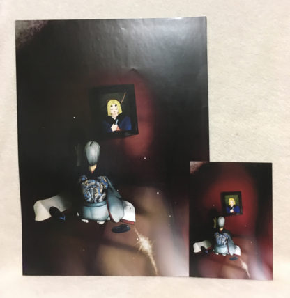 Silent Envy original Poster vs Postcard