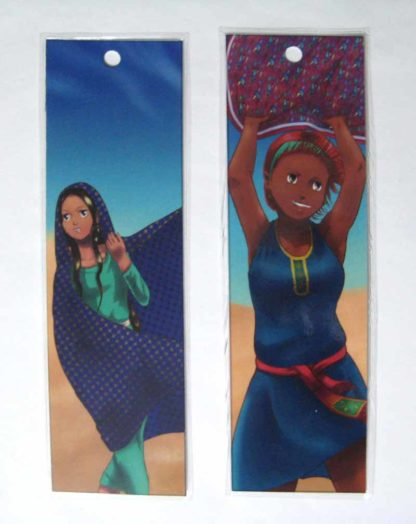 Free on the Dunes bookmarks