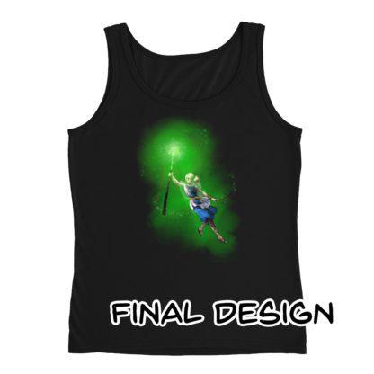 Divination Naomi Ladies' Tank Black Final Design
