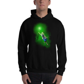 Divination Naomi Hooded Sweatshirt Black