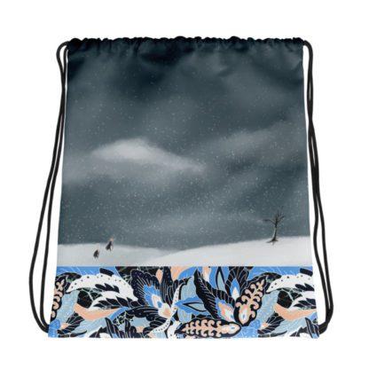 The Seven Kimono Drawstring Bag - Winter Front