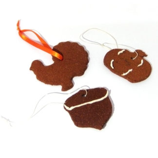 Cinnamon Fall Ornaments