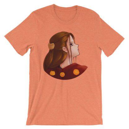 Looking Back Unisex Tee - Heather Orange