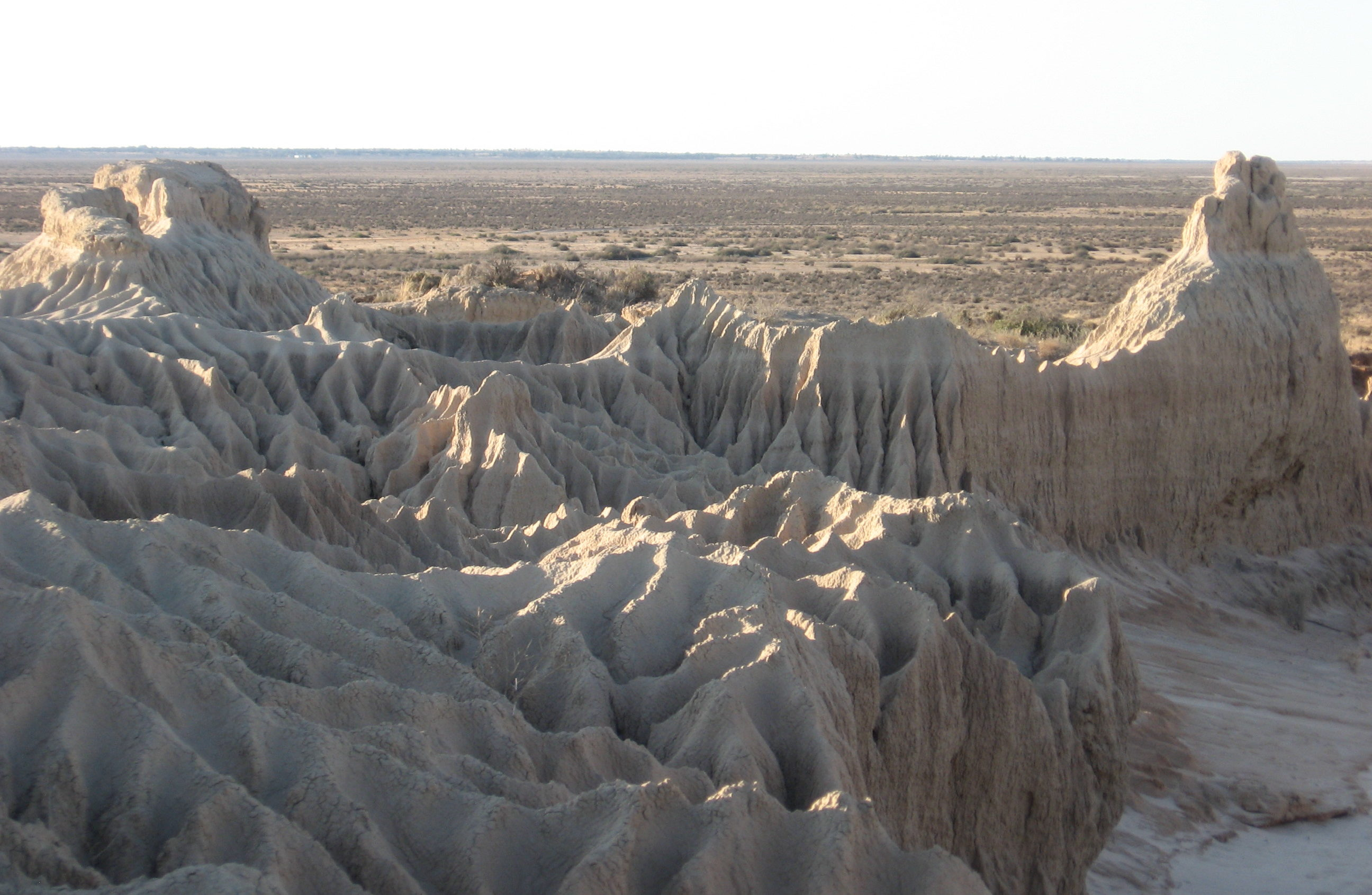 Lake Mungo Great Wall