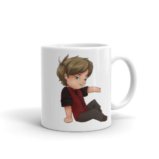 Chibi Perry Mug 11 ounce Left